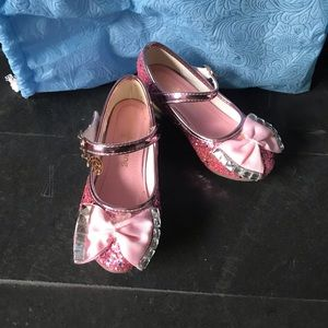 Other - Girls pink glitter sequins shoes